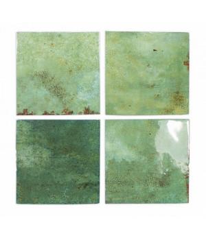 Enamel Square Moss - плитка