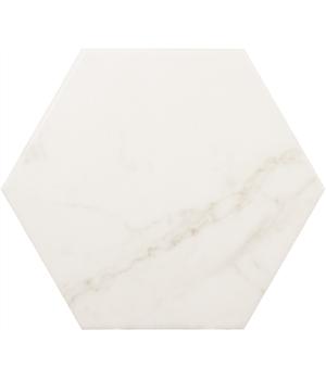 Carrara Hexagon Matt