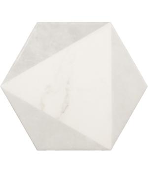 Carrara Hexagon Peak