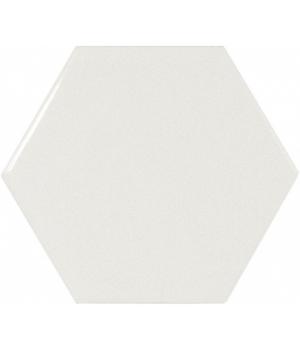 Scale Hexagon White - Плитка