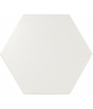 Scale Hexagon White Matt - Плитка