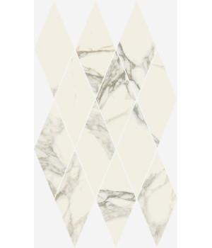 Charme Deluxe Arabescato White Mosaico Diamond Lux