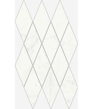 Charme Deluxe Bianco Michelangelo Mosaico Diamond Lux