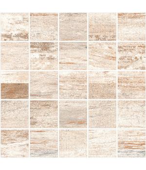 Cimic Wood Beige Grey Mosaic