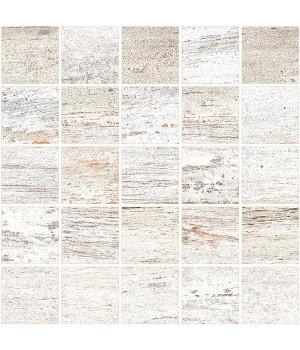 Cimic Wood Light Grey  Mosaic